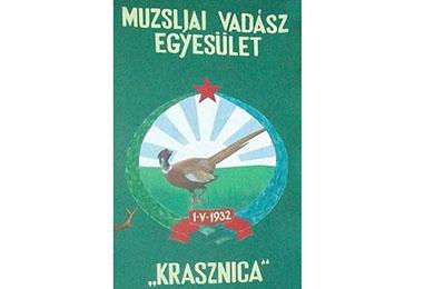 Muzslyai vadász egyesület - Krasznica